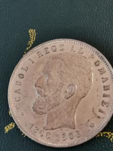 5 lei 1906 stare f bună