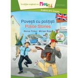 Carte Povesti cu politisti - Bilingv + Joc Domino, Editura DPH