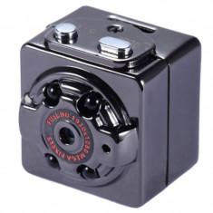 Mini Camera Spion iUni SQ8, Full HD 1080p, unghi 90 grade, audio-video TV-Out