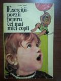 Exercitii poezii pentru cei mai mici copii- Luiza Carol