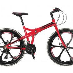 """Bicicleta Pliabila Mosso Marine ACR 2D , cadru 17"""" Aliminiu, Roata 26"""", Culoare PB Cod:M01MSO2602617002"""