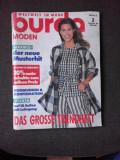 REVISTA BURDA NR.2/1994, TEXT IN LIMBA GERMANA
