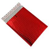 Cumpara ieftin Set 10 plicuri cu bule antisoc, spatiu destinatar-expeditor, laminate, termoizolante, autoadezive Office Depot, 26x18 cm, Rosu