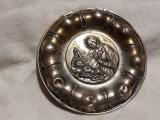 MEDALION argint FECIOARA MARIA cu PRUNCUL ISUS vechi OPULENT rar EXCEPTIONAL