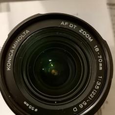 obiectiv foto ZOOM AF DT 18-70/3,5-5,6 (D) Konica Minolta
