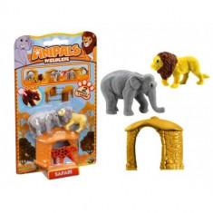 Set 2 figurine + casuta Anipals