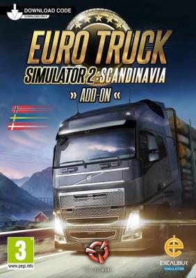 Euro Truck Simulator 2 Scandinavia Add-on PC CD Key foto
