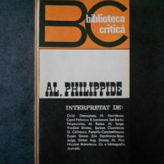 BIBLIOTECA CRITICA - AL. PHILIPPIDE