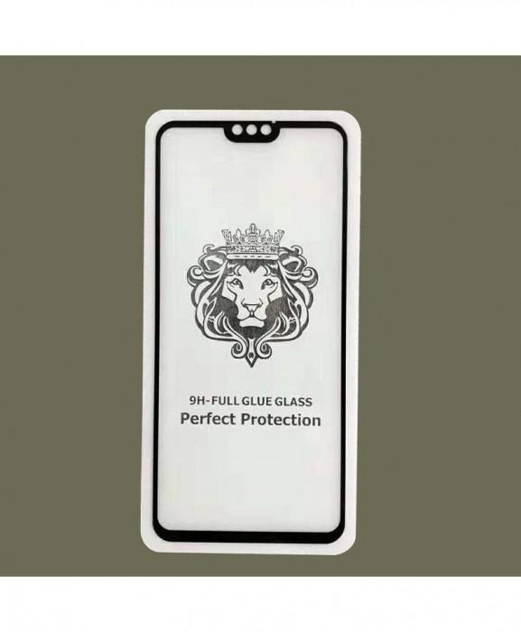 Geam Soc Protector Full LCD Lion Apple iPhone SE2020,iPhone 7, Iphone 8 Alb