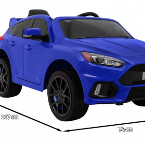 Masinuta electrica Ford Focus, albastru