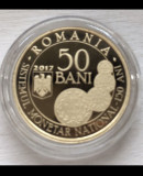 Moneda proof Sistemul monetar national 150 ani - Carol I