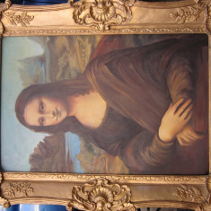 Pictura Gioconda, Monalisa, Istorice, Ulei, Realism