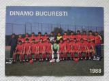 ILUSTRATA DINAMO BUCURESTI 1988
