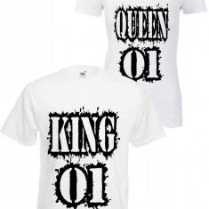 SET 2 TRICOURI CUPLU KING & QUEEN