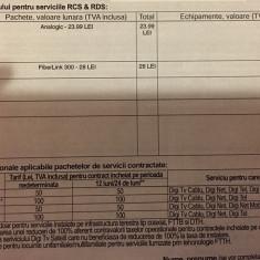 Ofer contract DIGI Cablu Tv+Net