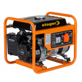 Stager GG 1356 generator open-frame 1kW, monofazat, benzina, pornire la sfoara