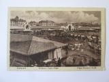 Rara! Bucuresti-Piata Bibescu-Vodă,carte postală necirc.ocupatia germana 1918, Necirculata, Printata