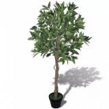Arbore de dafin artificial cu ghiveci 120 cm, vidaXL