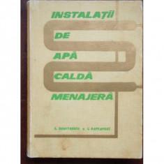 INSTALATII DE APA CALDA MENAJERA - C. DUMITRESCI