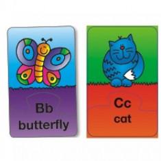 Alphabet Puzzle - Set 26 Puzzle cu Litere