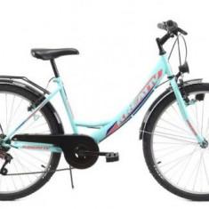 Bicicleta Dama Kreativ 2614, 16.5inch (Turcoaz)