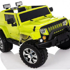 Kinderauto JeeP Outdoor 12V STANDARD Verde