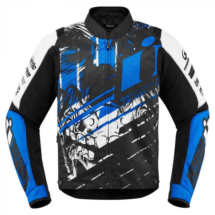 Geaca moto textil Icon Overlord Stim culoare Albastru/ Negru, marime 3XL Cod Produs: MX_NEW 28204536PE