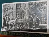 FOTOGRAFIE regele Mihai si maresal Antonescu la parada Garzii de Fier