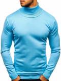 Cumpara ieftin Helanca bărbați albastru-aprins Bolf 2400