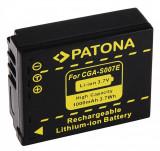 Acumulator tip Panasonic CGA-S007 S007 pentru Lumix DMC-TZ1 TZ2 TZ3 TZ4 TZ5, Dedicat, PATONA