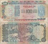 1991, 100 rupees (P-86e) - India!