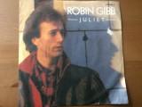 "robin gibb juliet hearts on fire disc vinil single 7"" 1983 polydor muzica pop"