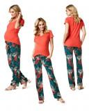 Pantaloni de vara pentru gravide Noppies