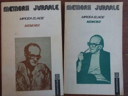 Memorii 1, 2- Mircea Eliade