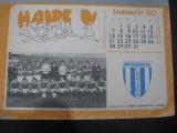 Rar - Calendar Universitatea Craiova 1981, Editat de revista Ramuri, stare buna