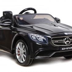 Masinuta electrica Mercedes-Benz S63 AMG, negru