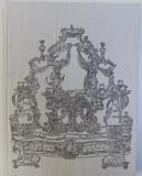 LES ARTS APPLIQUES DE L 'EUROPE OCCIDENTALE XII -e - XVIII e SIECLES par N. BIRIOUKOVA , ( EDITIE BILINGVA RUSA - FRANCEZA ) , 1974