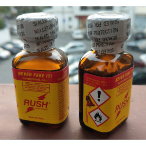 Poppers RUSH - sticluta mare - poppers - aroma camera  - original - poze reale