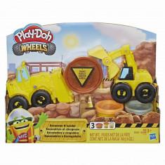Set Play-Doh Excavator si incarcator