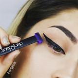 Set machiaj stampila pentru tus + pensula Vamp Stamp