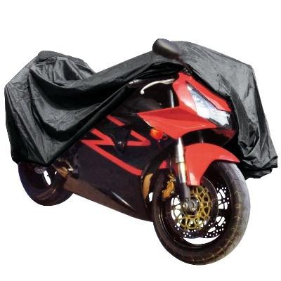 Prelata motocicleta Carpoint 245x80x145cm , PVC , cu fereastra numar imatriculare Kft Auto foto