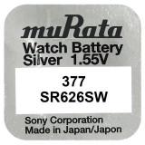 Baterie de ceas muRata 377 AG4 SR626SW 1.55V 1 Bucata / Set