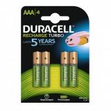 Acumulatori Duracell AAA R3 850mAh 4 Bucati / Set