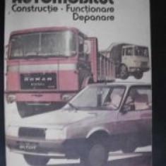 Automobilul Constructie,functionare,depanare-D.Cristescu,V.Raducu