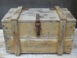 Cumpara ieftin PIESA RARA! LADA DE MUNITIE ROMANEASCA DIN AL DOILEA RAZBOI MONDIAL MARCATA 1941