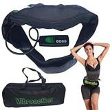 Cumpara ieftin Aparat masaj tip centura pentru slabit, cu vibratii intense pentru talie si abdomen, Vibroaction