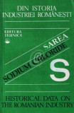 Din istoria industriei romanesti. Sarea. Sodium chloride
