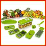 Cumpara ieftin Razatoare Multifunctionala Legume si Fructe Set 9 Piese Nicer Plus