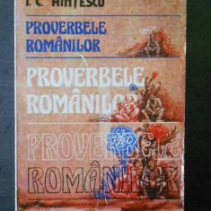 I. C. HINTESCU - PROVERBELE ROMANILOR
