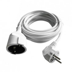 Cablu extensie 3m(3g1.5mm2)16a, alb